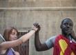 05-09-2018 - Presidio dei migranti sotto la Prefettura di Bologna